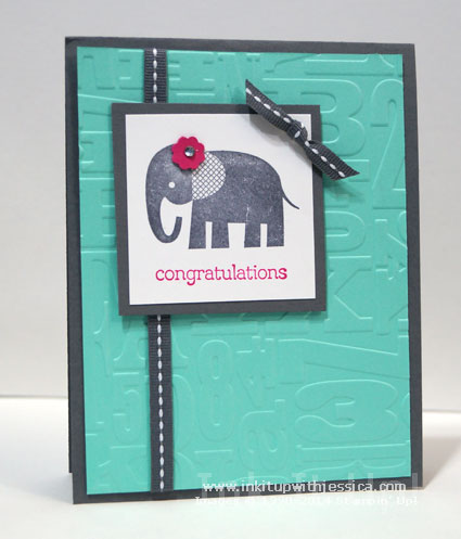 Elephant Baby Cards