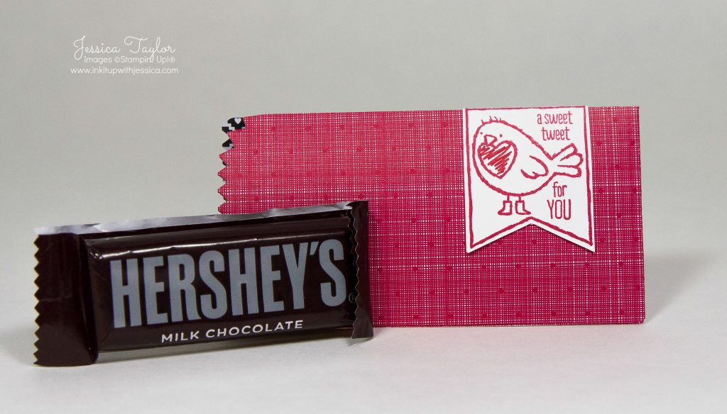 Hershey's Valentine Treat Holder