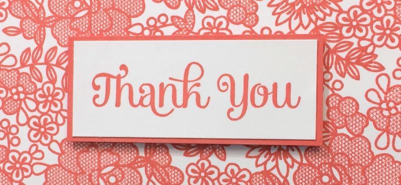 Thank You Cards in Any Color
