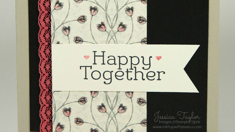 timeless elegance wedding card  ink it up with jessica