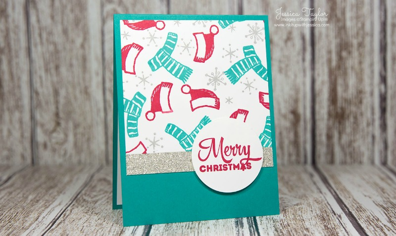 Card Making Ideas Stampin Up Part - 47: Snow Place Christmas Card In FUN Colors!