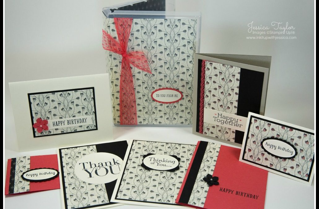 A set of Handmade Cards makes a Great Gift!