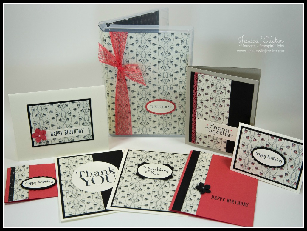 Amazing Card Making Gift Ideas Part - 7: Timeless Elegance Card Set