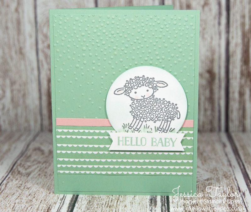 Lamb Baby Card