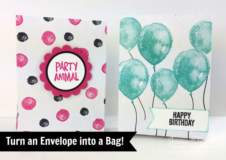 How to Make an Envelope into a Bag!