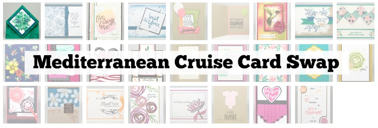 Mediterranean Cruise Card Swap
