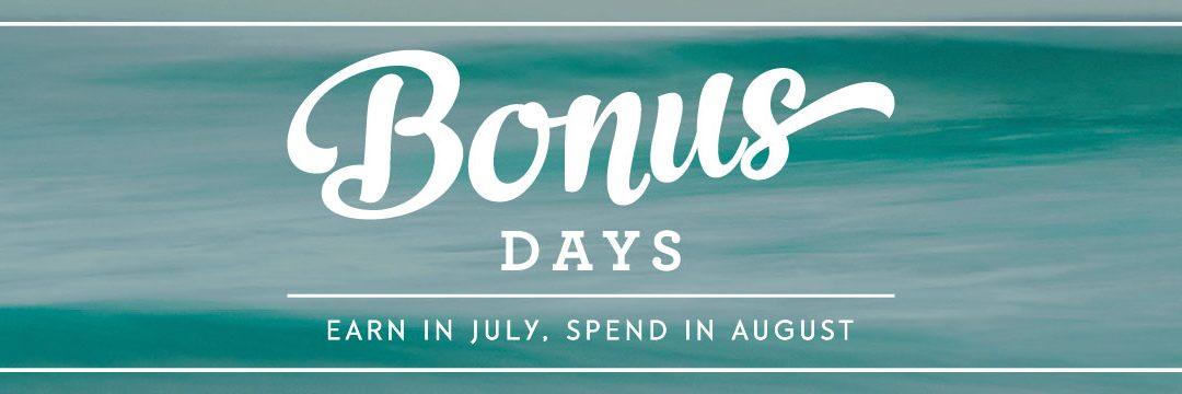 Stampin' Up! Bonus Days