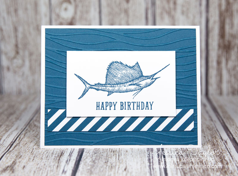 Swordfish Birthday Card