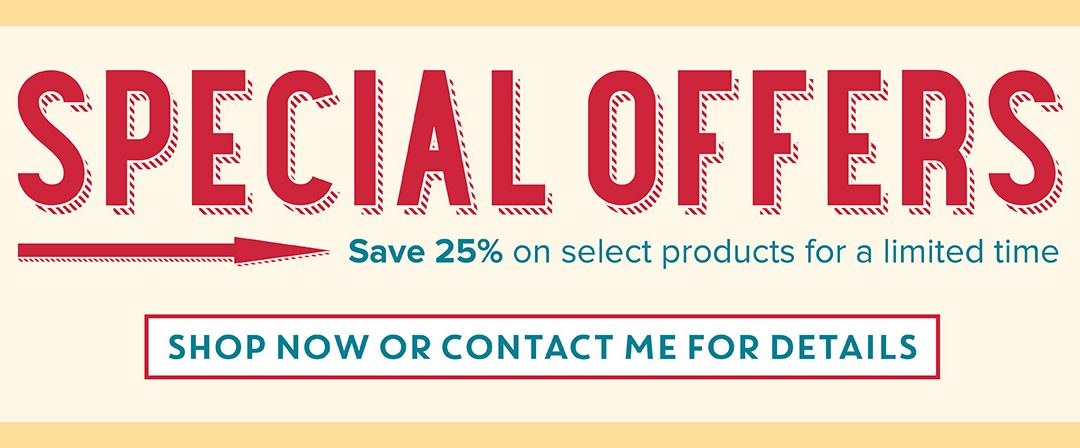 Special Offers from Stampin' Up!