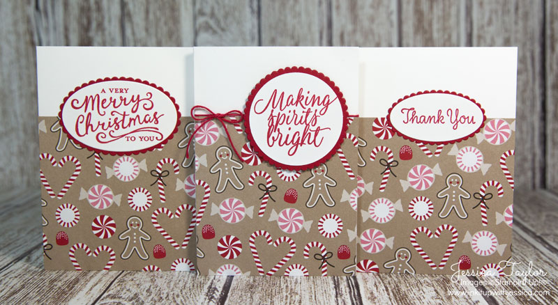 Candy Cane Lane Christmas Cards