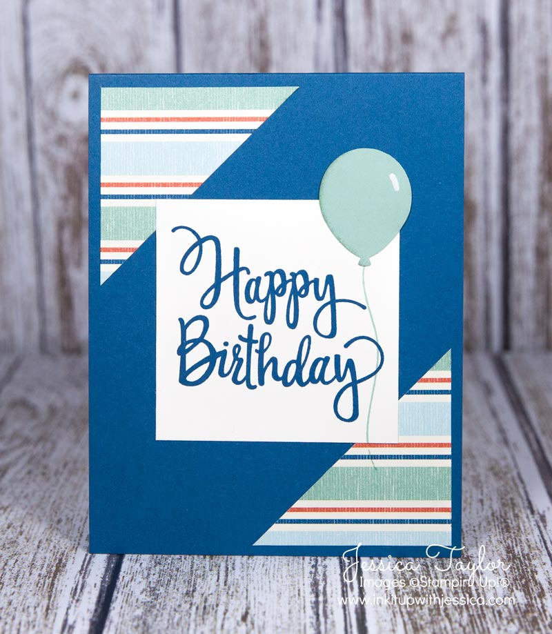 Card Making Ideas For Men Part - 19: ... Making Ideas | Stamping Techniques. Stylized Birthday Card
