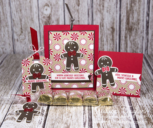 Cookie Cutter Christmas Gingerbread Gifts