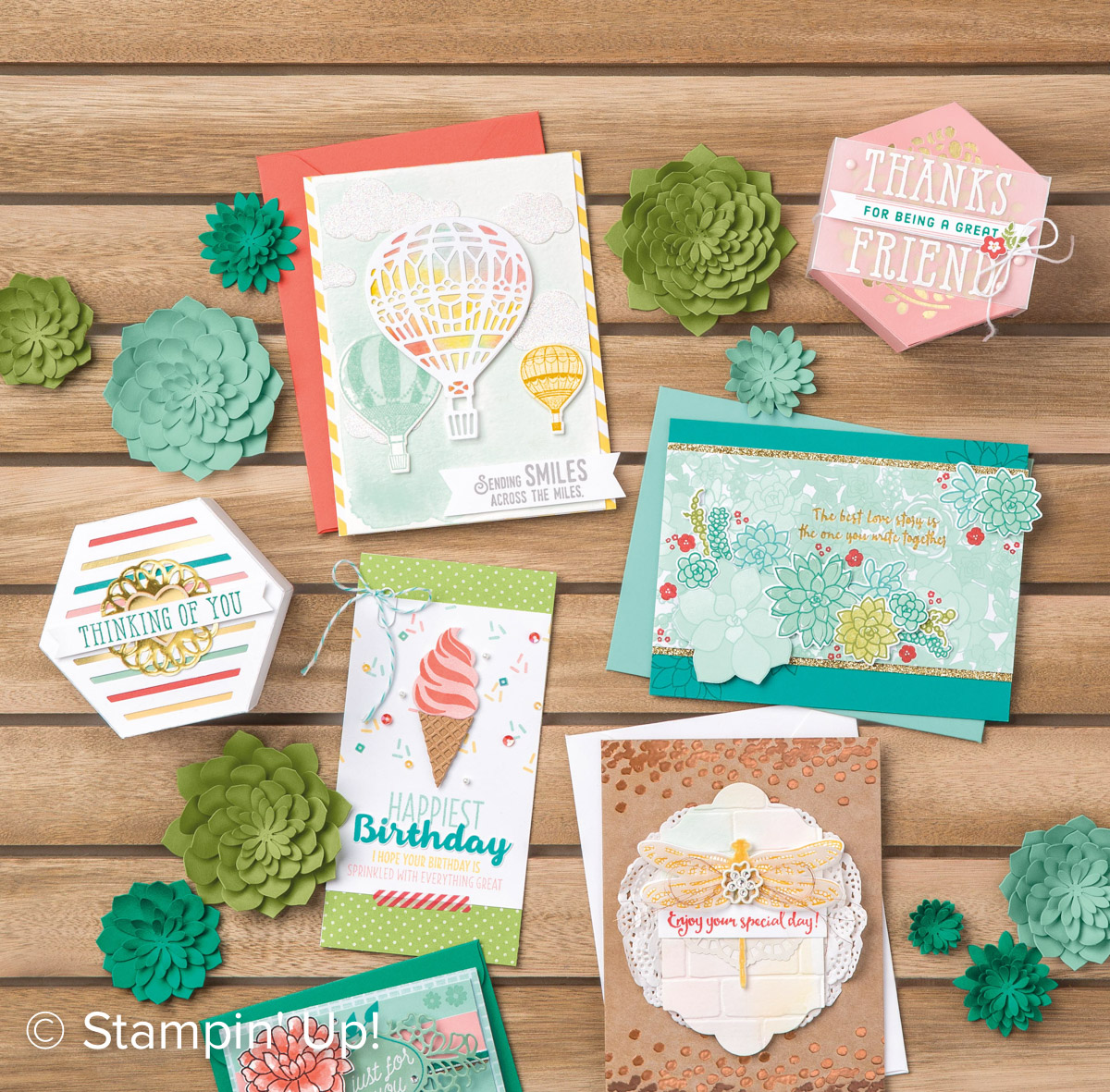 NEW! 2017 Stampin' Up! Occasions Catalog