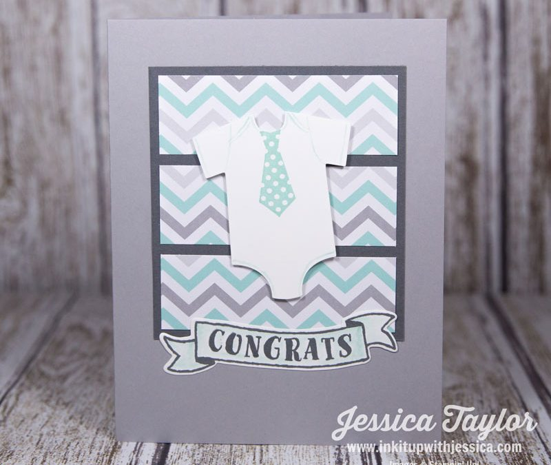 Baby Boy Congrats Card