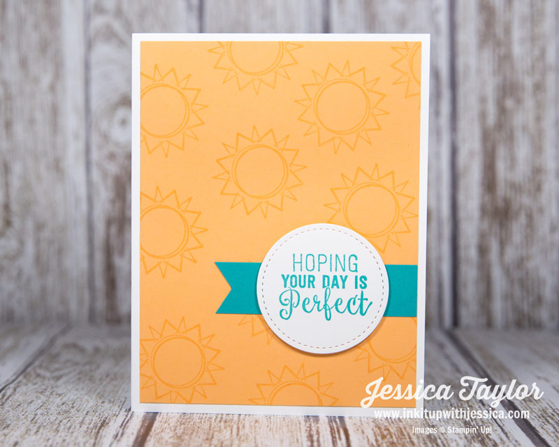 Perfect Day Versamark Card
