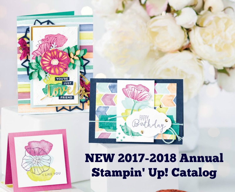 2017-2018 Annual Stampin' Up! Catalog