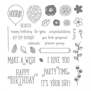 Stampin' Up! Happy Birthday Gorgeous Stamp Set