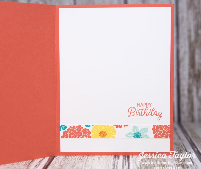 Beautiful Bouquet Birthday Card Dont Forget To Decorate The Inside