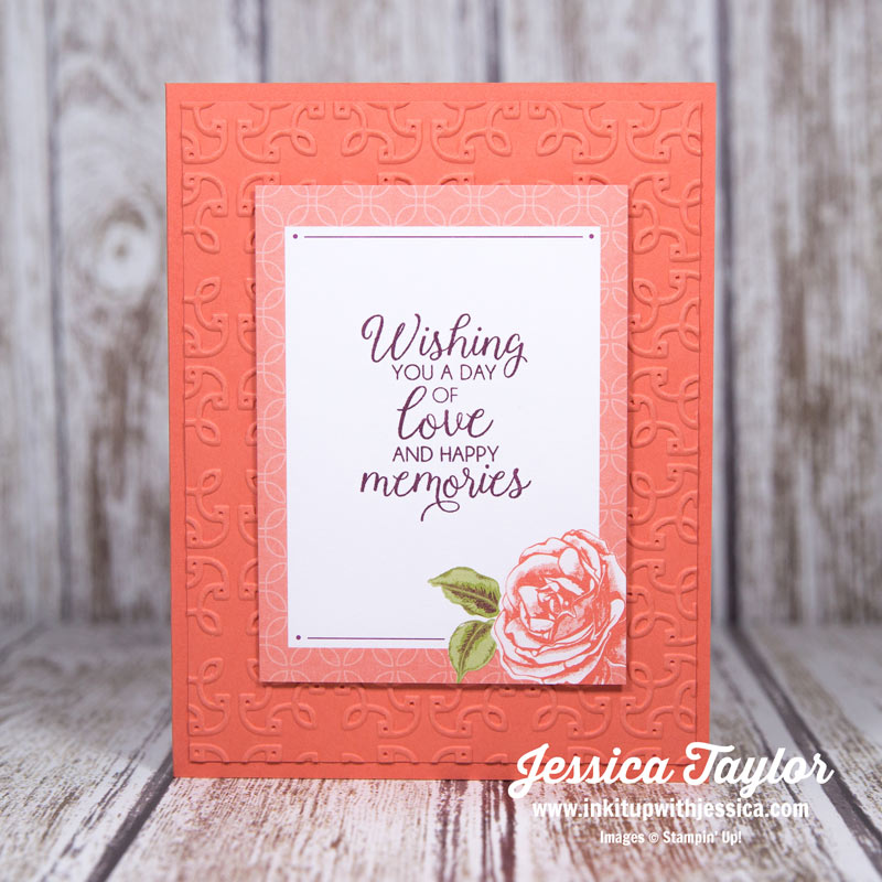 Petal Garden Memories & More Card