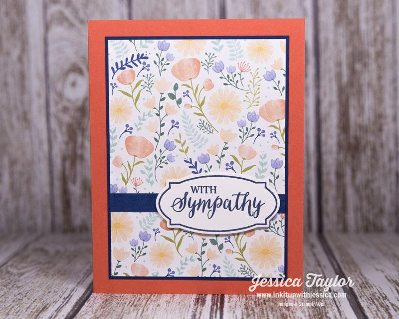 Delightful Daisy Sympathy Card