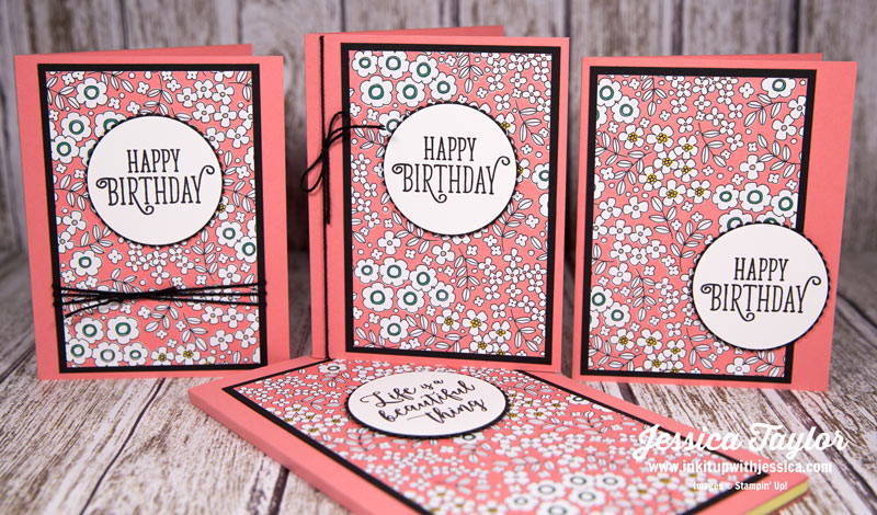 Flower Birthday Cards