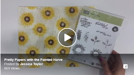 Painted Harvest Pretty Papers