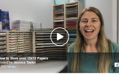 How to Store 12×12 Paper
