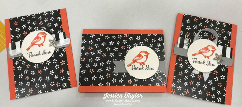 Bird Thank You Cards