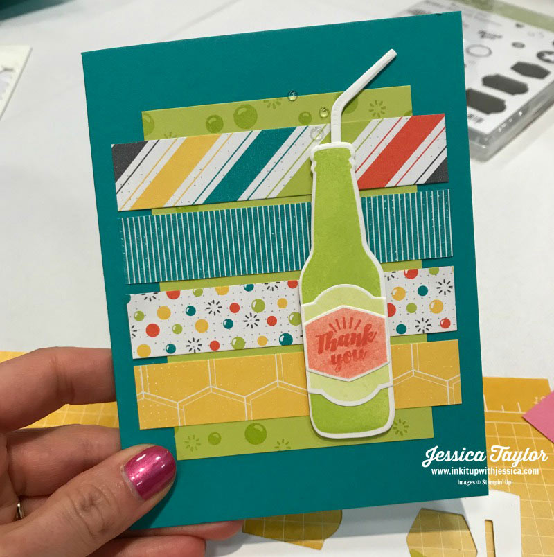 Soda Pop Thank you Card