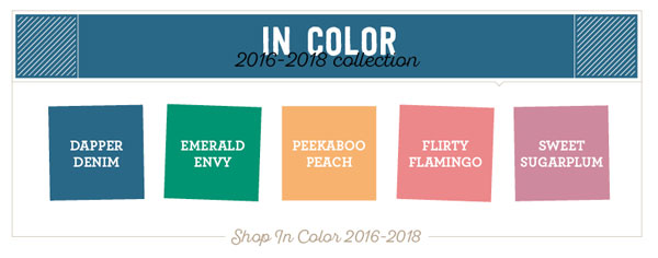 2016-2018 In Colors by Stampin' Up!