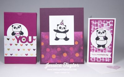 It's a Panda Party! 1 Stamp Set, 3 Ideas