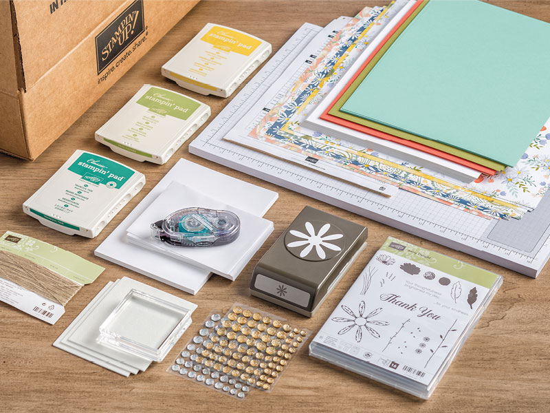 Stampin\' Up! Starter Kit - Ink it Up With Jessica | Card Making ...