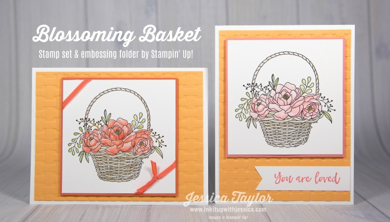 Blossoming Basket Cards
