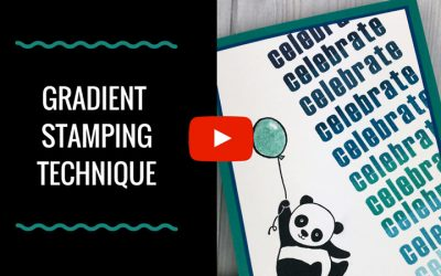 Gradient Stamping Technique Video