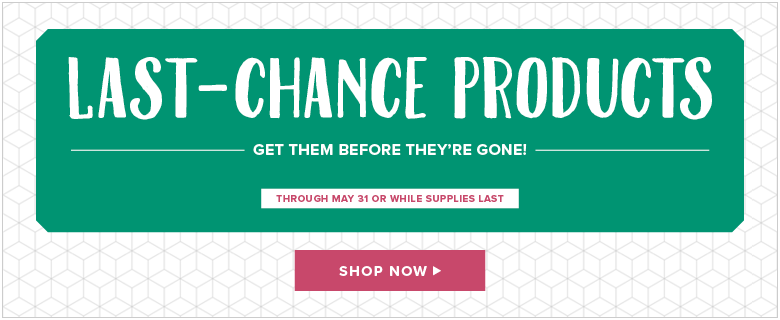 Last Chance Stampin' Up! Products