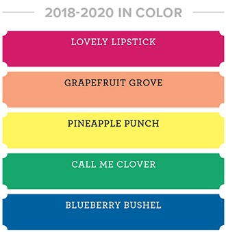 2018-2020 In Colors from Stampin' Up!