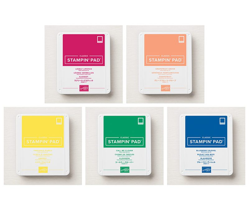 Introducing 5 NEW Color Ink Pads!