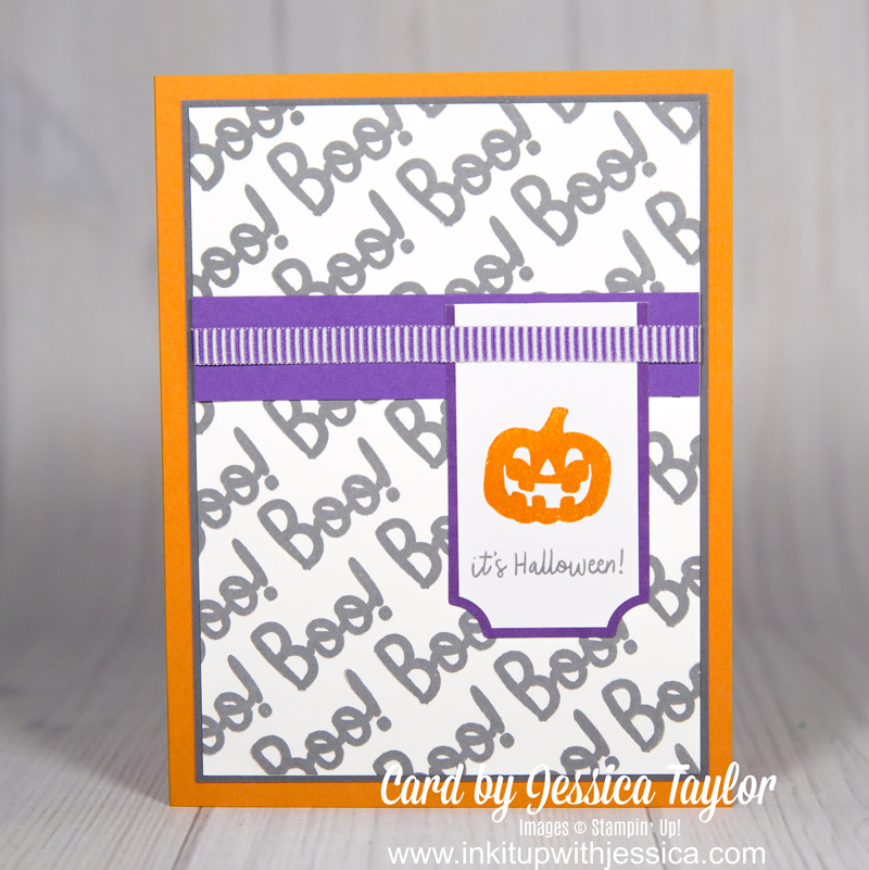 Boo Halloween Card: Paper Pumpkin Alternative September 2018