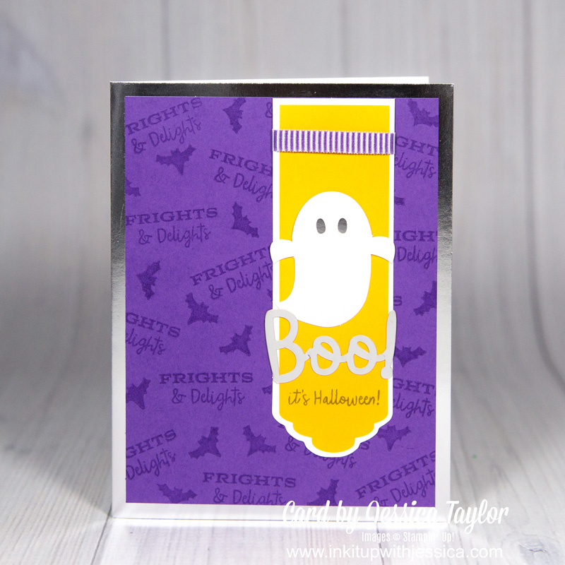 Ghost Halloween Card Halloween Jack-o-lantern Card Boo Halloween Card: Paper Pumpkin Alternative September 2018