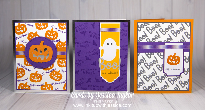 Halloween Cards: Stamp Your Own Paper!