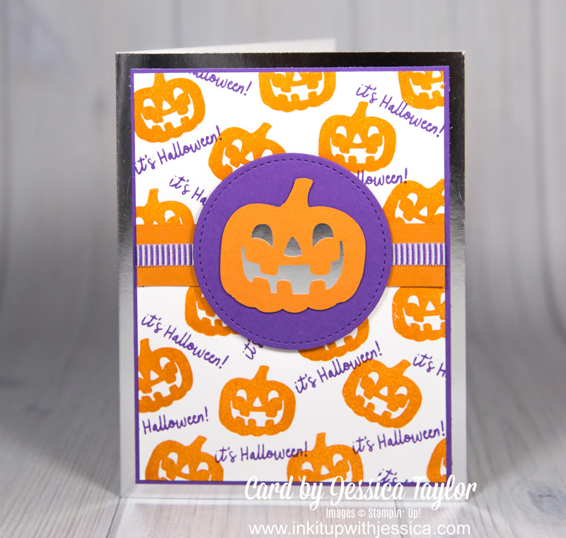 Halloween Jack-o-lantern Card Boo Halloween Card: Paper Pumpkin Alternative September 2018