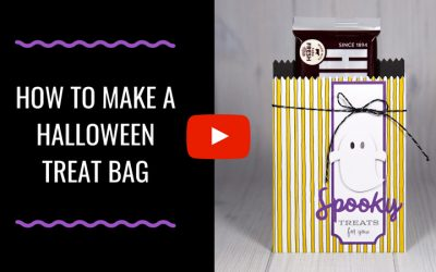 How to Make a Halloween Treat Bag