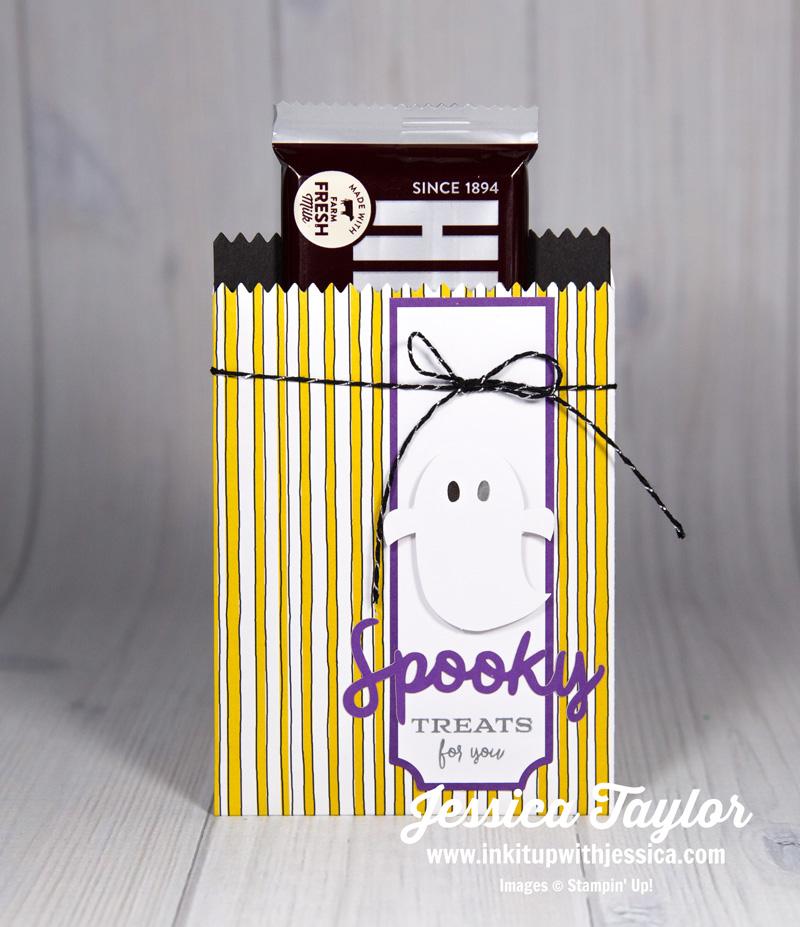 Halloween Treat Bag with Mini Treat Bag Thinlit Dies
