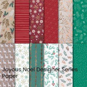 Joyous Noel Designer Series Paper