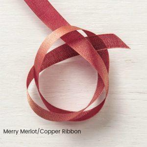 Merry Merlot/Copper Ribbon
