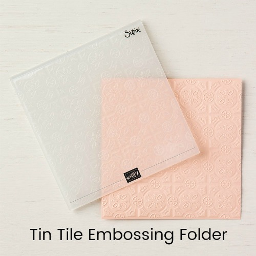 Tin Tile Embossing Folder