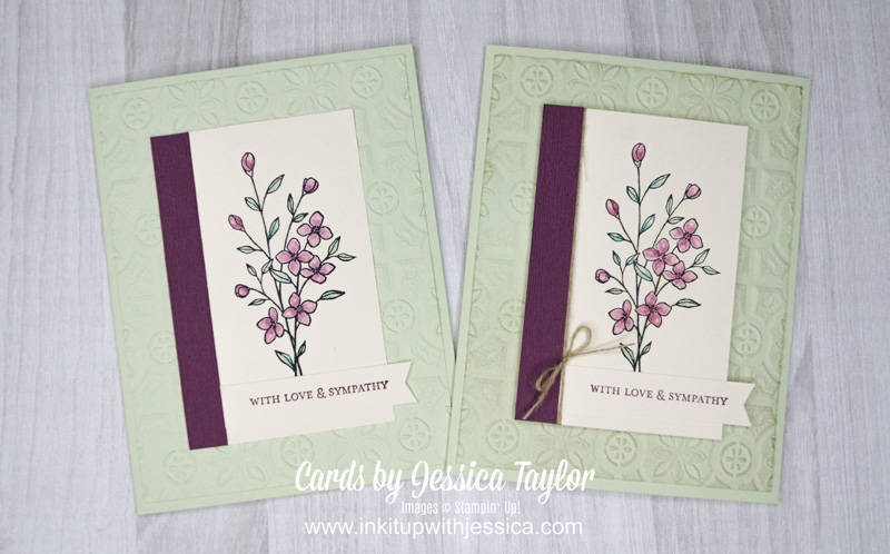 Tin Tile Sympathy Cards