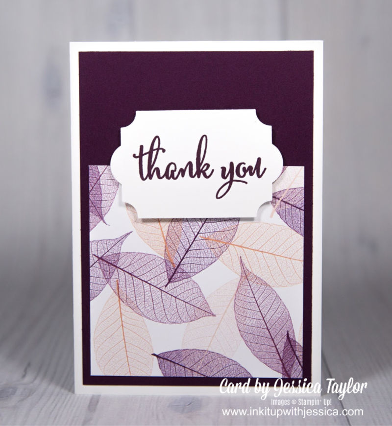 Nature's Poem Easy Thank You Card