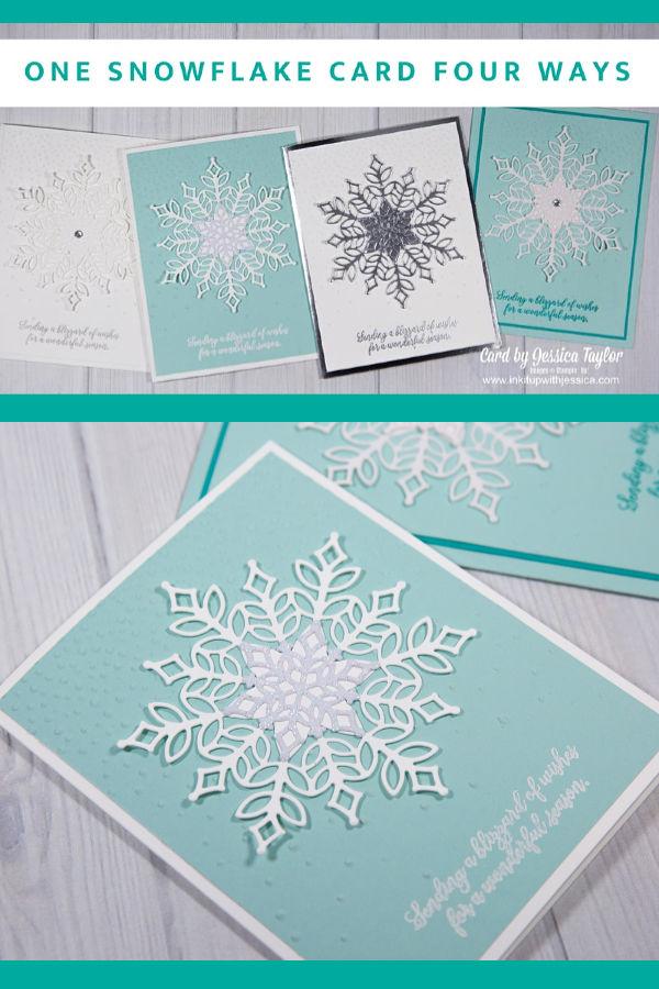 Snowflake Showcase Cards