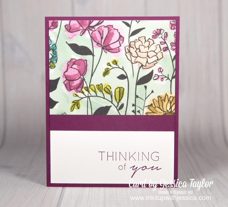 Easy Thinking of You Card